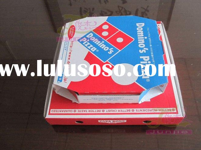best selling corrugated kraft paper pizza box