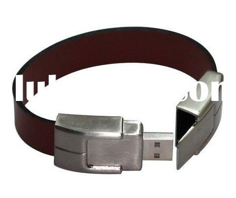 bracelet leather usb flash drive