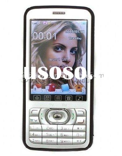 cheap unlocked camera mobile phone A968 GSM at&t T-mobile Quad-band TV bluetooth 3.0 inch touch