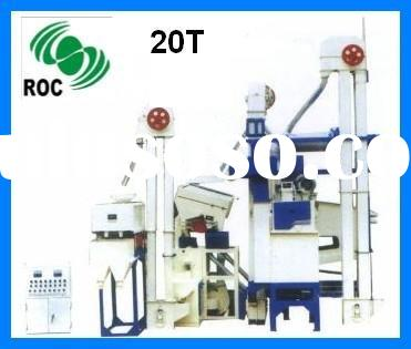 complete set rice mil machine 20T