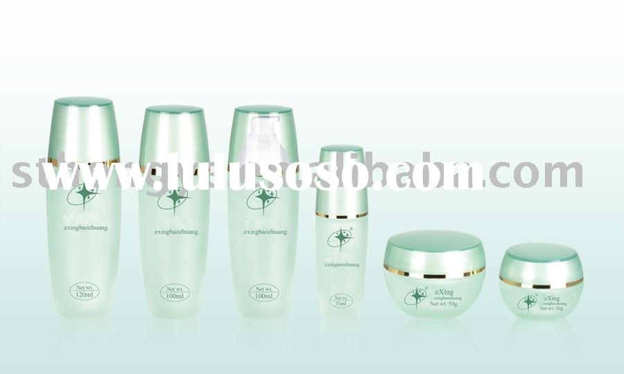 cream glass cosmetic packaging