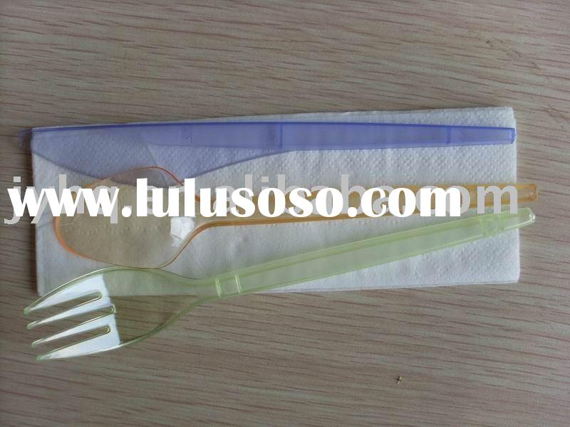 cutlery set(airline cutlery set,disposable cutlery,plastic fork)
