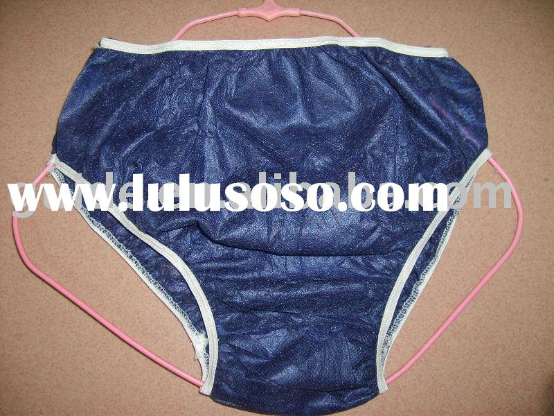 disposable nonwoven panty
