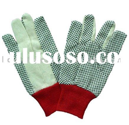 drill cotton gloves
