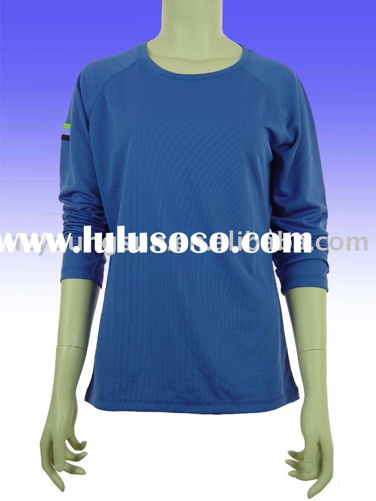 dry-fit t-shirts, long sleeve t-shirts, women's apparel