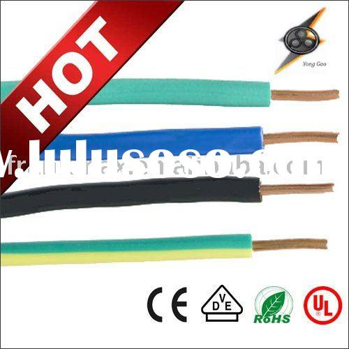 electric cable production line PVC Insulated Non-Flexible Multi Core Round Cable Wire