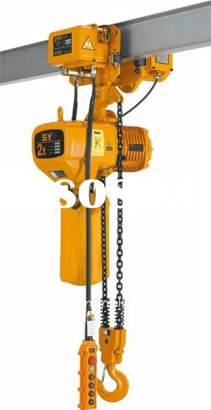 electric chain hoist 300kg-35T,single/double speed,220V voltage