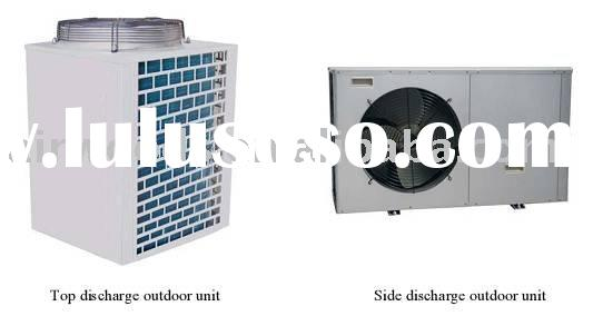 energy saving air to water DC inverter heat pump with R410A