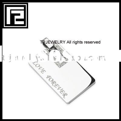 engravable stainless steel jewelry