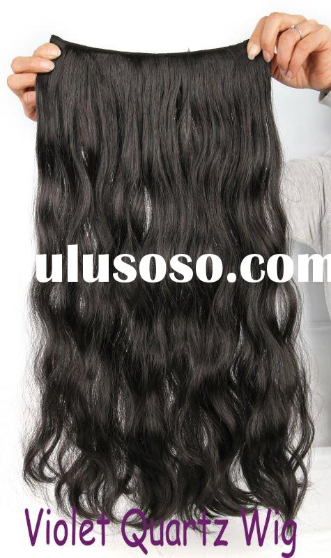 fashion synthetic hair 25cm body wave hair extension JKP 017