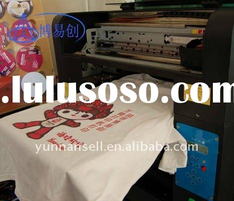 flatbed ddigital automatic high resolution textile printer