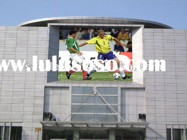 flexible led display screen video p16 outdoor