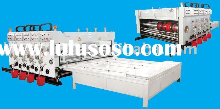 flexo printer slotter machine/ flexo printer/slotter /carton box machine/carton packing machinery
