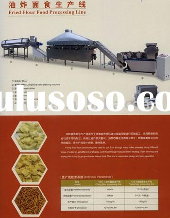 fried flour food processing line
