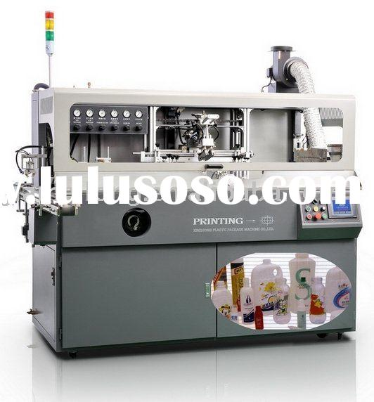 full automatic plastic bottle / container screen printing machine