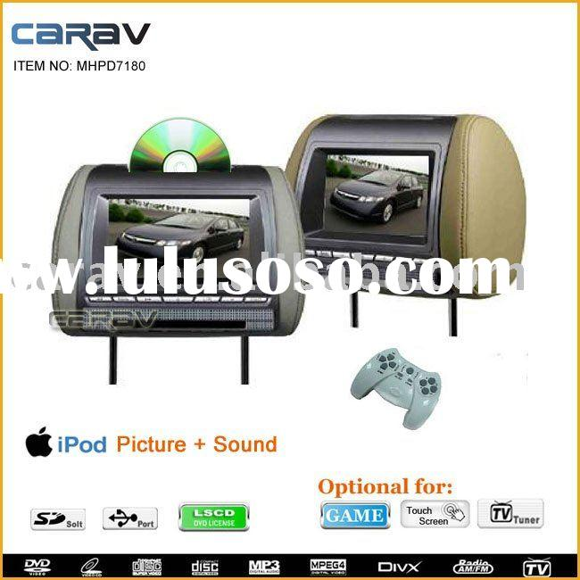 "headrest dvd-7"" Headrest DVD player,car dvd with SD/USB"
