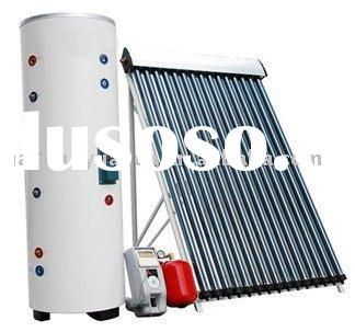 heat pipe seperated solar water heater