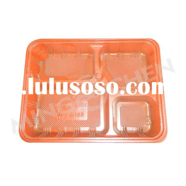 hot sale plastic fast food box/take away food container/ lunch fast food box