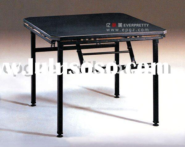 hotel furniture,hotel table,stacking banquet desk,folding table