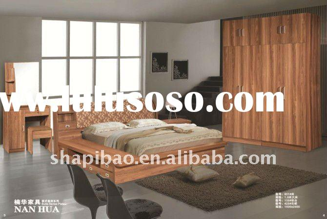 hotel/home furniture high quality PDF timber beds A 820