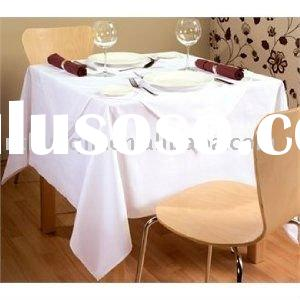 hotel spun polyester table linens restaurant table cloth and spun poly table napkins