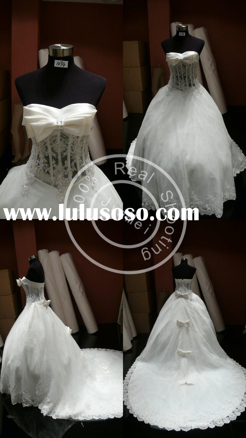 latest design formal evening gown grecian dress bead mesh embroidery bridal ball gown wedding bustie