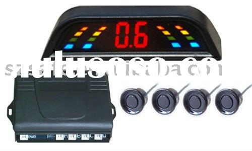 low cost LED display car parking system