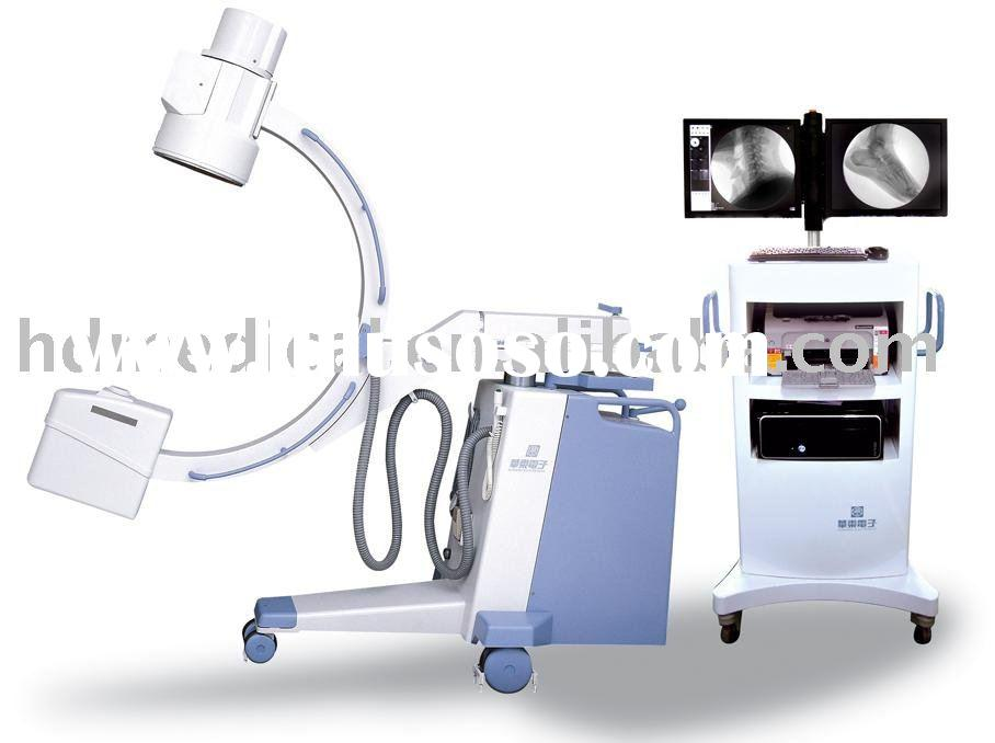 mega pixel 5kw high frequency mobile C arm X -ray machine