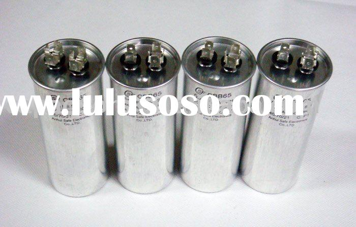 motor run capacitors model CBB65 for air compressor