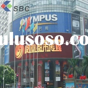 outdoor full color led screen poster