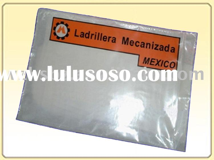 Custom Made Self Adhesive Packing List Envelope With