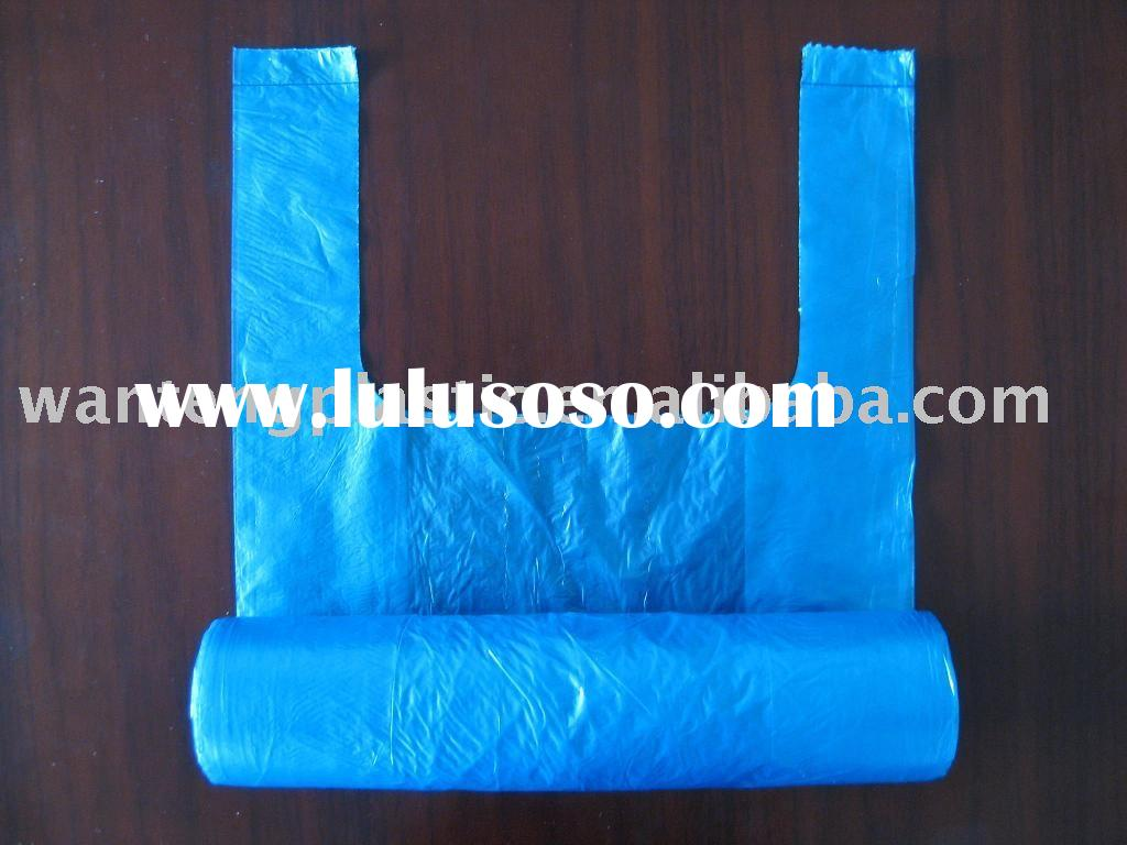 plastic bags on roll