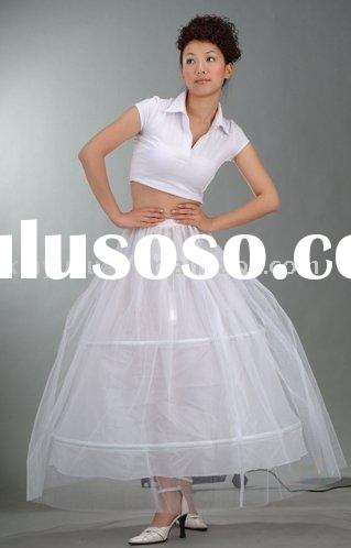 plus size China discount and cheap hot sale wedding petticoats R-04