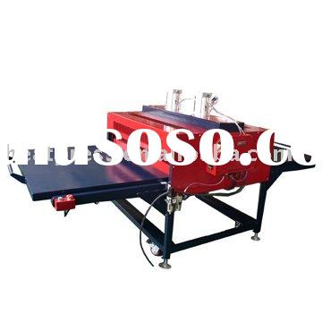 pneumatic transfer press machine for fabic/polyester/plyester/spandex/sport ware/cotton