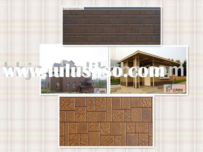 Exterior Decorative Metal Perforared False Wall Panel Covering ISO9001 CE Fo