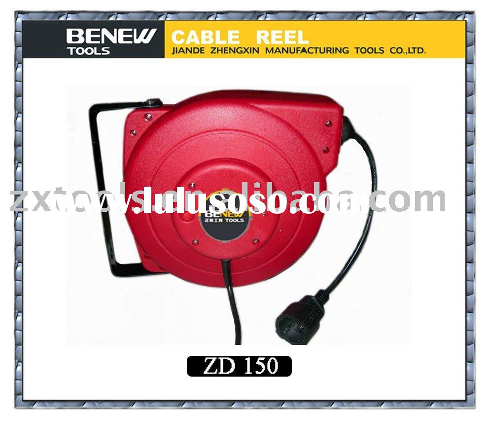 power extension retractable cable reel ce rohs this cable reel is made