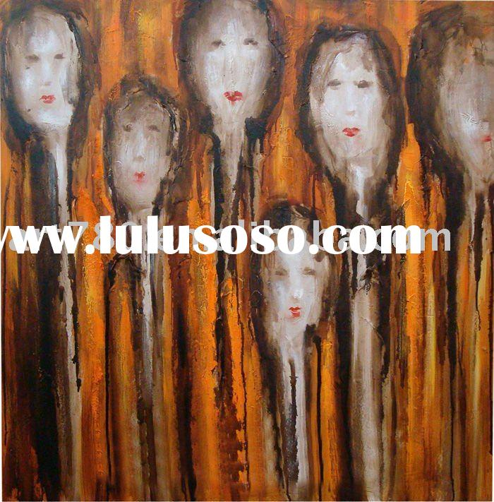 printing equipment,abstract oil painting,people art