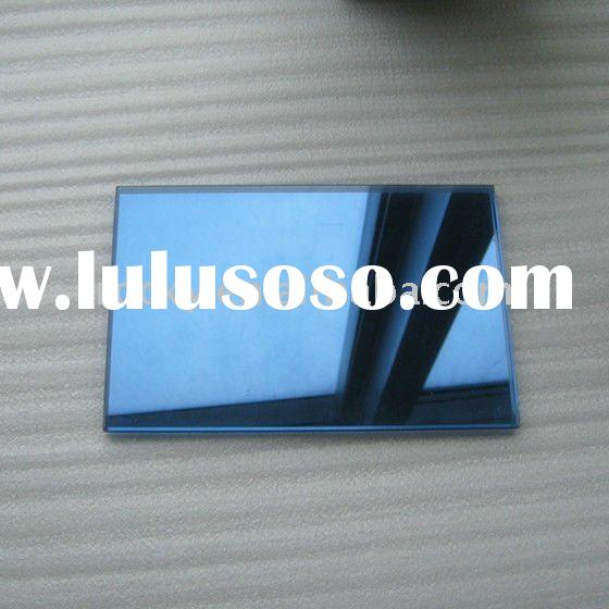 produce 6mm 5mm 4mm dark blue reflective float glass