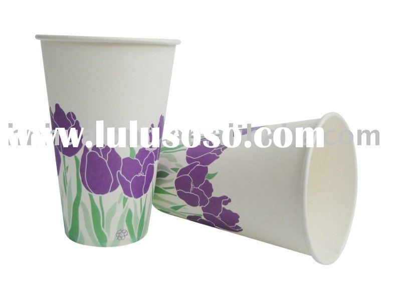 single PE coated paper cup