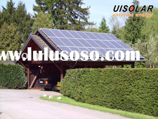 solar power system( On-gride 5KW solution for home and business)