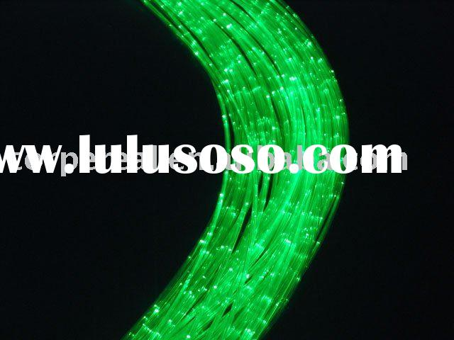 sparkle plastic optical fiber cable for indoor & outdoor lighting decoration