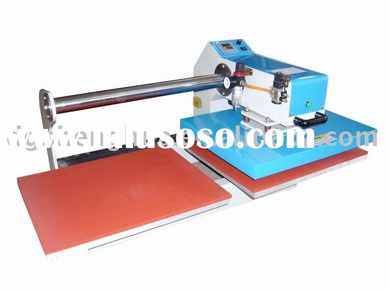 up sliding heat transfer machine,T shirt printing machine,Automatic heat press printing machinery