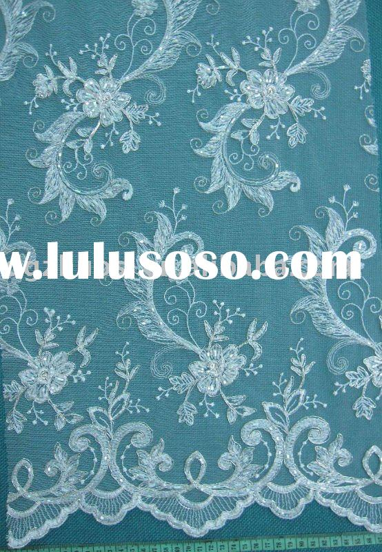 voile african lace fabric or french lace fabric for wedding dress and fashion clothes