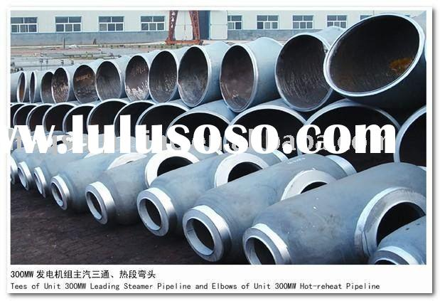 wall thickness seamless steel pipe fitting tee