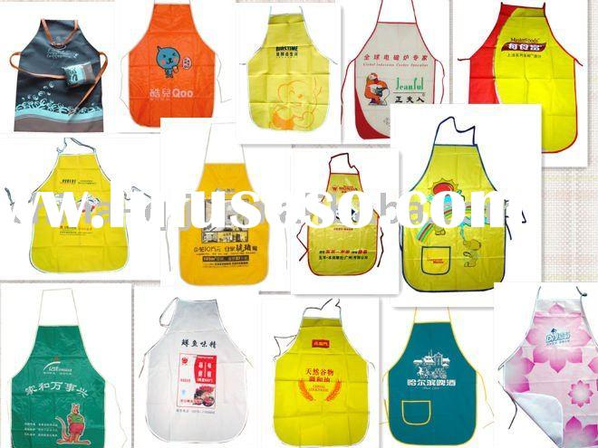 waterproof pvc polyester fabric apron
