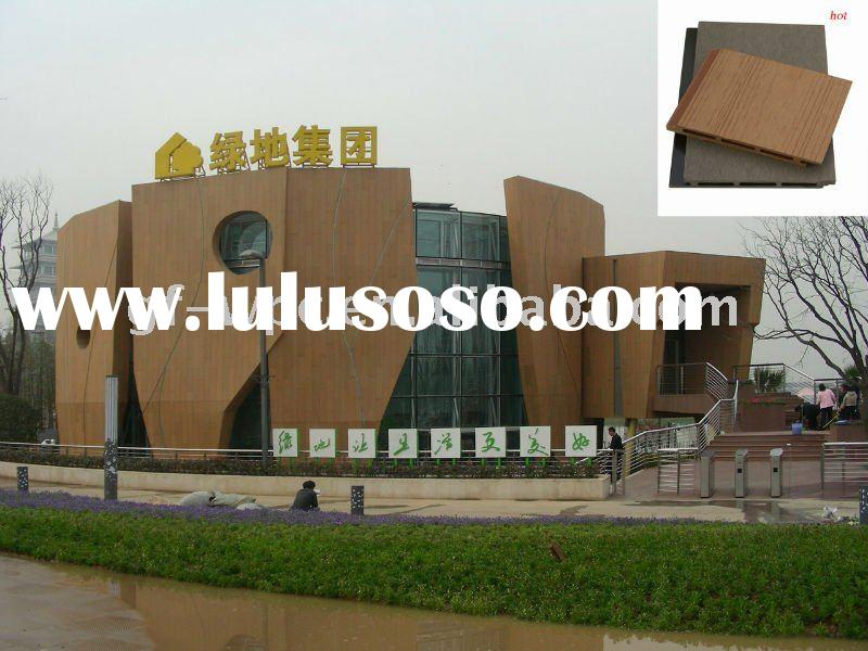 wood plastic composite wall cladding,WPC wall panel