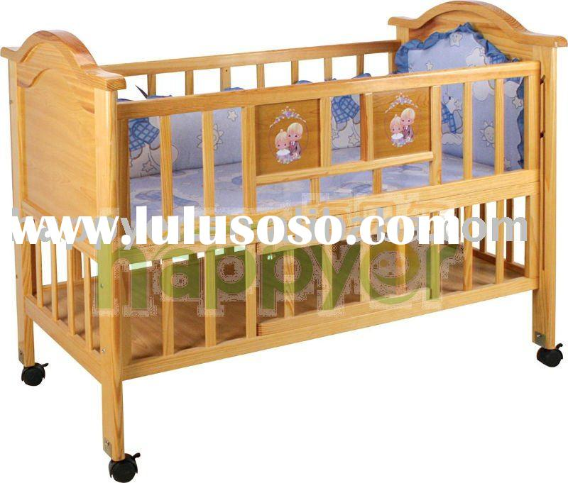 Wooden baby cot bc 002 for sale price china manufacturer supplier 1857221 - Cots for small spaces plan ...