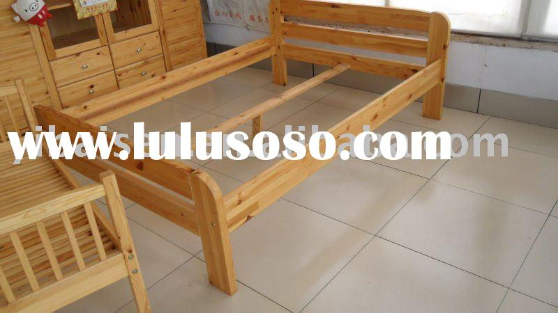wooden furniture home bedroom furniture pine bed frame