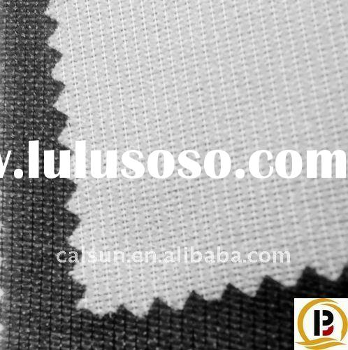 100% Polyester Knit Twill Fusing Lining Fabric