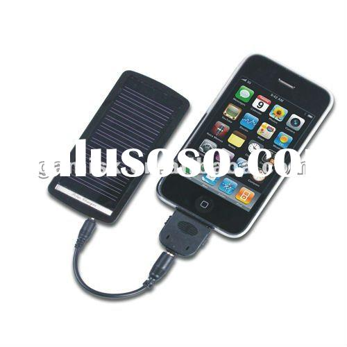 1100 mAh LARGE CAPACITY UNIVERSAL SOLAR MOBILE CHARGER